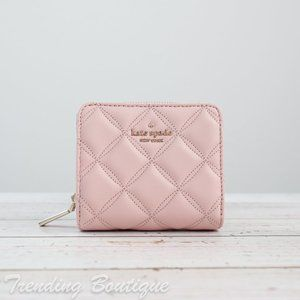 NWT Kate Spade Natalia Quilted Zip Around Wallet
